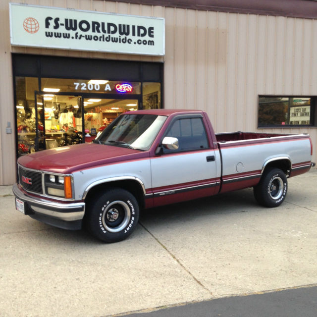 good used truck - 1988 GM SL Sierra Pick-up ruck 2WD utomatic Long Bed Used ...