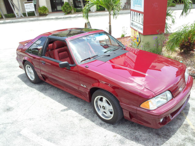 1988 Ford Mustang GT with T-Tops