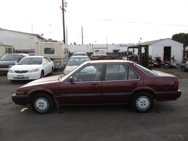 1996 honda accord lx sedan 5 speed manual transmission photo.