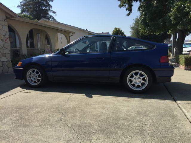 1988 Honda Civic CRX SI, CARB legal engine swap, CARB legal