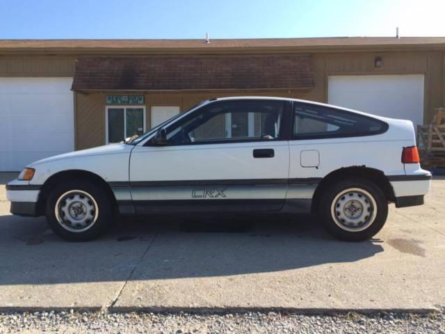 1988 Honda CRX DX Coupe 2-Door 1.5L 118k Original Miles 5 Speed All Factory & 1988 Honda CRX DX Coupe 2-Door 1.5L 118k Original Miles 5 Speed ... Pezcame.Com