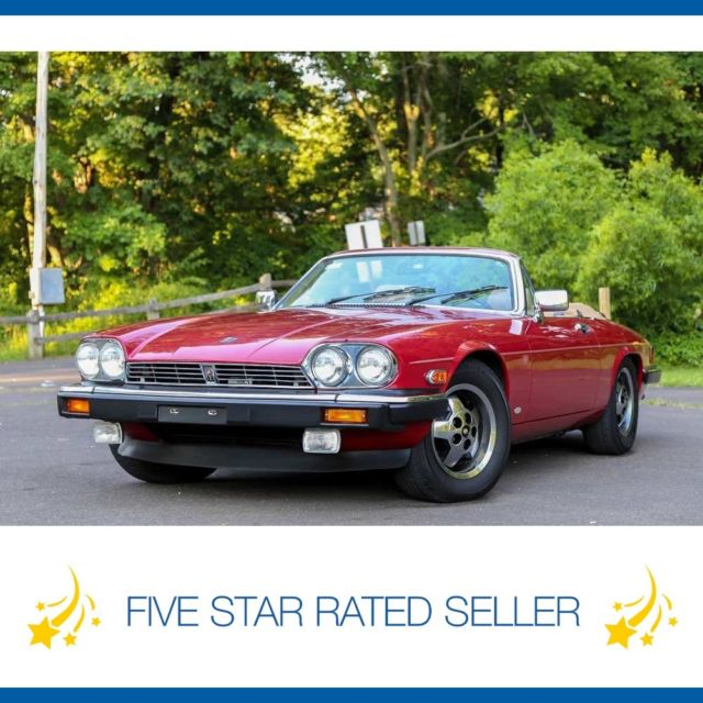1988 Jaguar XJS V12 Super Low 21K miles CARFAX Convertible!