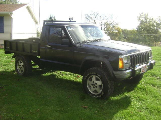 1988 jeep comanche 4x4 for sale photos technical specifications description. Black Bedroom Furniture Sets. Home Design Ideas