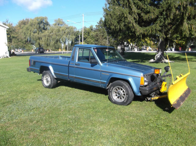 1988 jeep comanche pioneer 4x4 with meyer snow plow for sale photos technical specifications. Black Bedroom Furniture Sets. Home Design Ideas