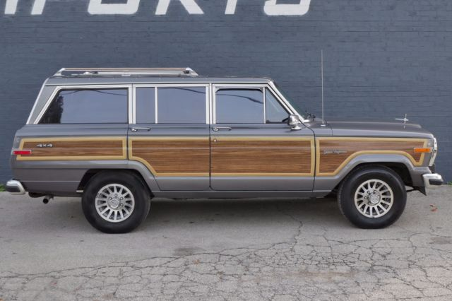 1988 Jeep Wagoneer WOOD