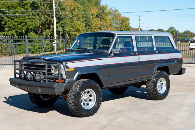 1988 Jeep Grand Wagoneer 4x4 5 9l Amc 360 V8 Lifted 33
