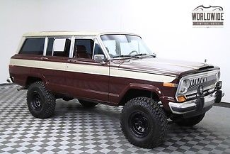 1988 Jeep Wagoneer RESTORED V8 AUTO 4 WHEEL DRIVE