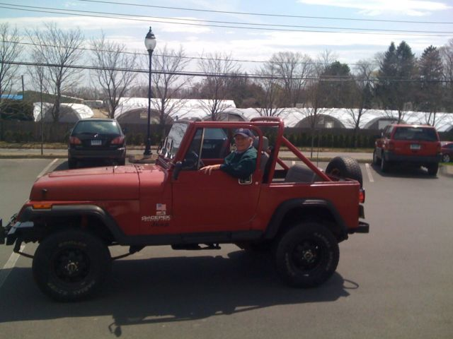 1988 Jeep Wrangler Base Sport Utility 2-Door