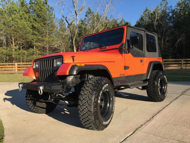 1988 Jeep Wrangler Yj Sahara 4 2l Automatic Fully