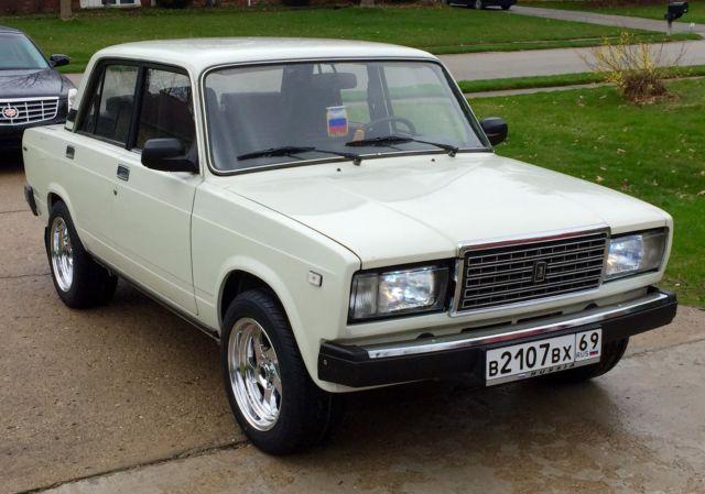 1988 lada 2107 jiguli vaz 2107 russian car 5 speed mint no