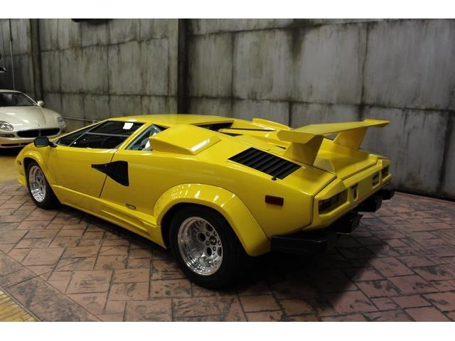1988 lamborghini countach 13890 miles yellow 12 cylinder 5 speed manual for sale photos. Black Bedroom Furniture Sets. Home Design Ideas