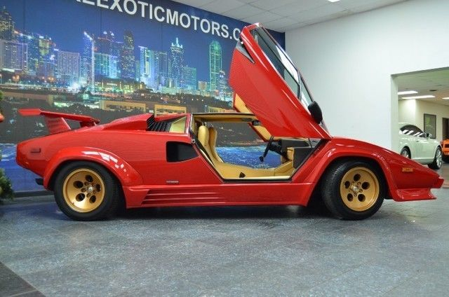 1988 lamborghini countach 5000 quattrovalvole 29 556 kilometers 18 469 miles. Black Bedroom Furniture Sets. Home Design Ideas