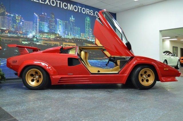 1988 Lamborghini Countach 5000 Quattrovalvole 29 556