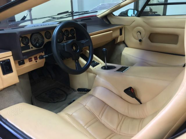 1988 Lamborghini Countach 5000 Quattrovalvole 29 556 Kilometers 18 469 Miles For Sale Photos