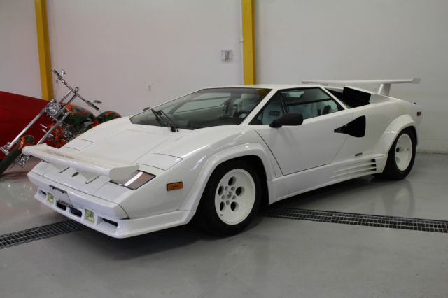 1988 Lamborghini Countach Lp5000s Qv 1 Original Owner
