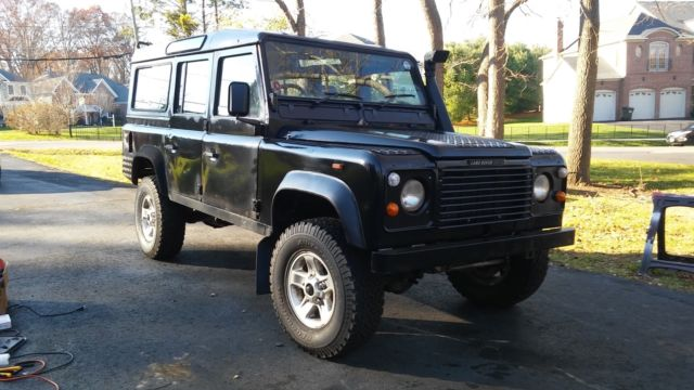 1980 Land Rover Defender COUNTY LWB STATION WAGON