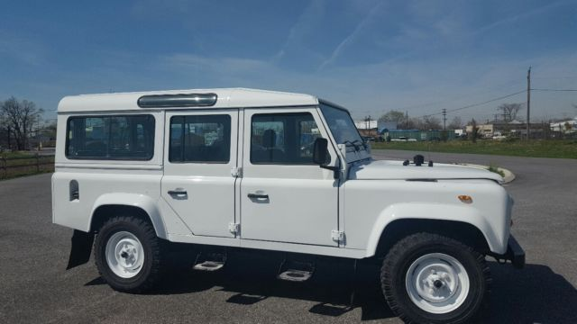 1988 Land Rover Defender LEFT HAND DRIVE CSW