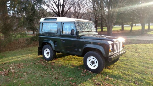 1980 Land Rover Defender Right Hand Drive