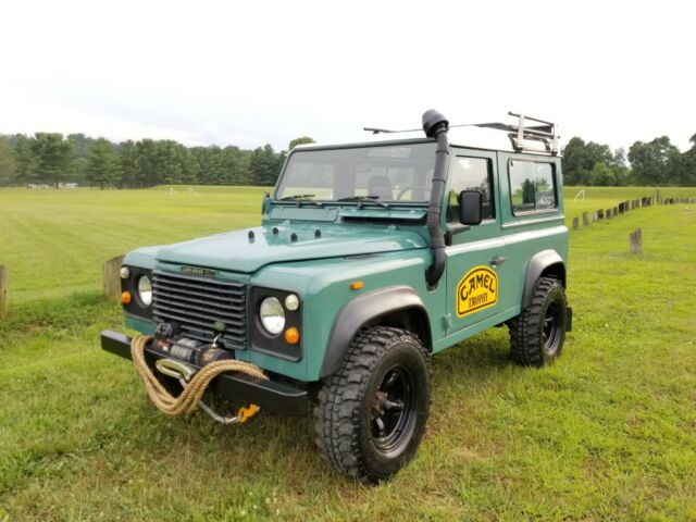 1988 Land Rover Defender Left Hand Drive Station Wagon