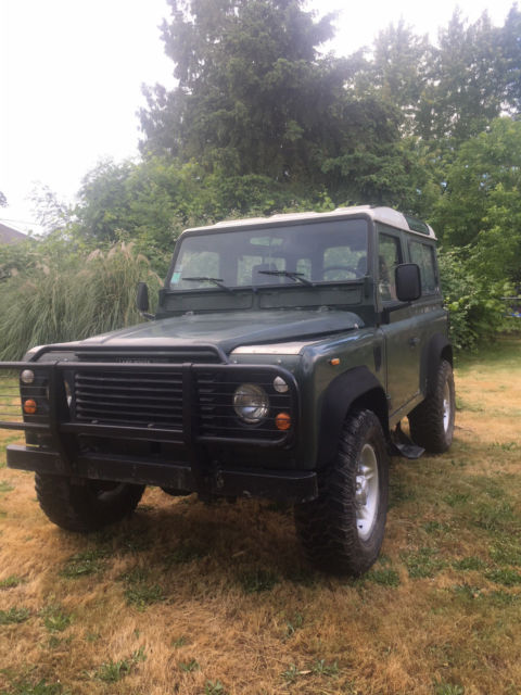 1988 Land Rover Defender Civilian Station Wagon LHD