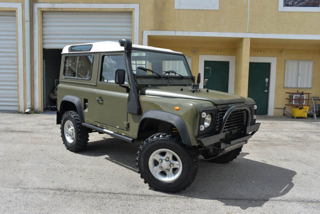 1988 Land Rover Defender 90 300TDI SEE VIDEO!!!