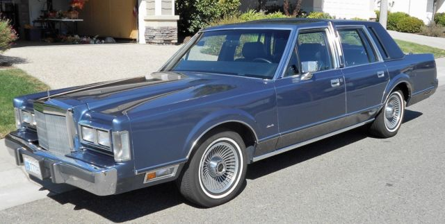 1988 Lincoln Tc Excellent Mechanical Condition Good Body And