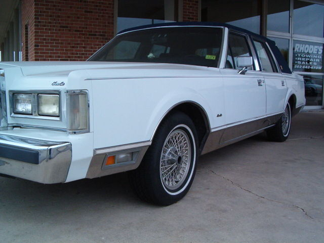 1988 Lincoln Town Car 135k Miles Clean Tx Car For Sale Photos