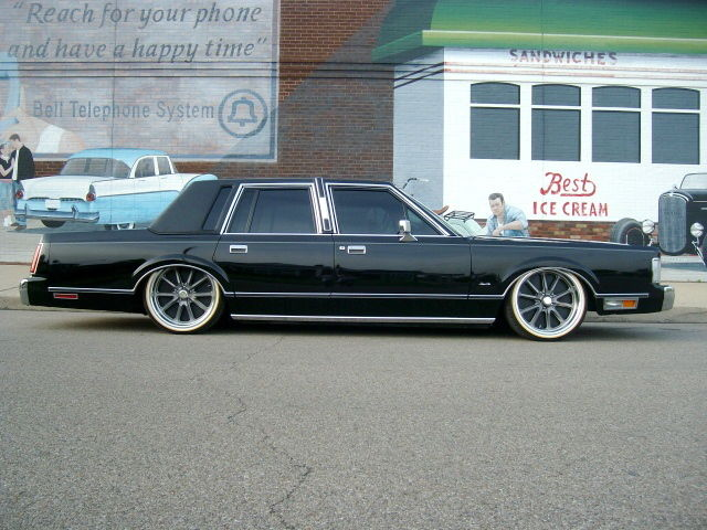 1988 Lincoln Town Car Show Winner Bagged For Sale Photos