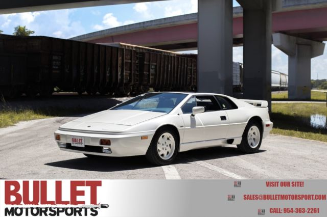 1988 Lotus Esprit Video Inside!