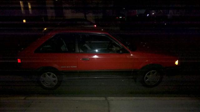 1988 Mazda Familia 323 GTX AWD Turbo Sport Hatch 4WD RX7