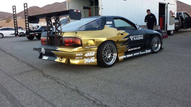 Mazda Turbo Competition Drift Car Time Attack Car