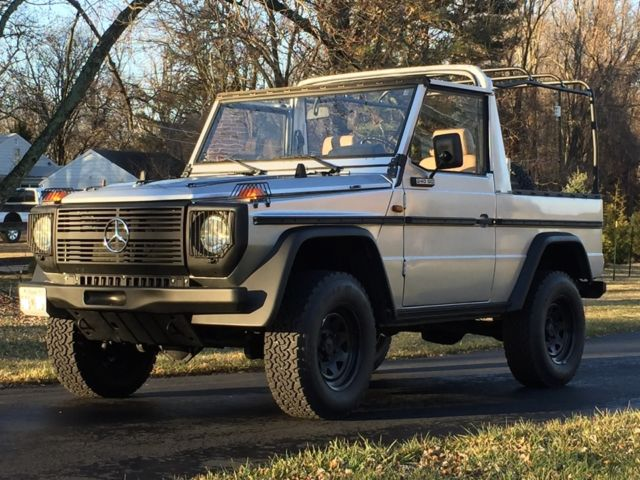 1988 mercedes 240gd g wagon g class convertible great shape 74k orig miles for sale photos. Black Bedroom Furniture Sets. Home Design Ideas
