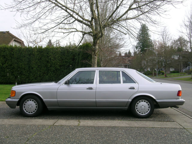 1988 Mercedes-Benz S-Class Long Wheelbase