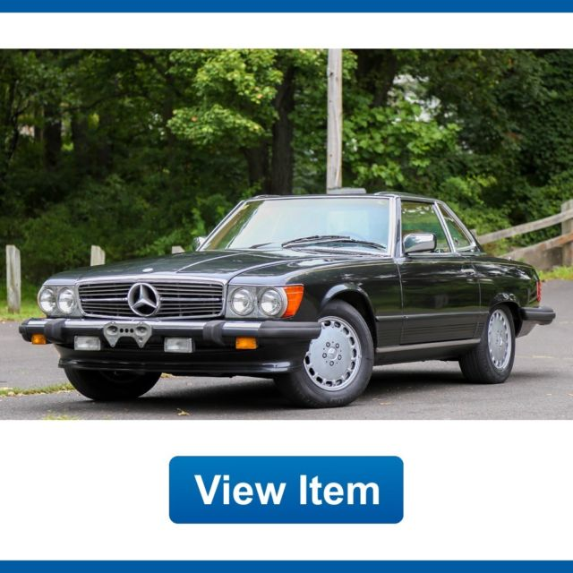 1988 Mercedes-Benz SL-Class Base Convertible 2-Door