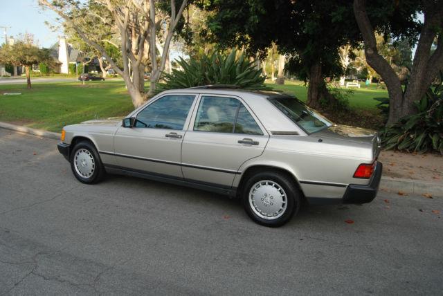 1988 mercedes benz 190e 2 3 92k smoke silver mint service for 1988 mercedes benz 190e