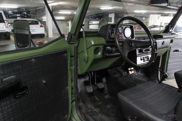 1988 mercedes benz 240gd 4x4 g wagon diesel military gelandewagen w460 w461 g500 for sale. Black Bedroom Furniture Sets. Home Design Ideas