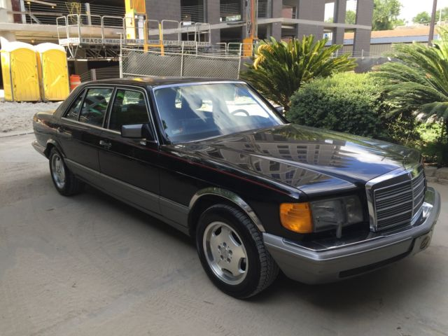 1988 mercedes benz 300 sel w126 no reserve for sale for Mercedes benz west houston