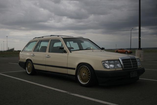 1988 mercedes benz 300te wagon slammed clean custom bbs for 1988 mercedes benz 300te