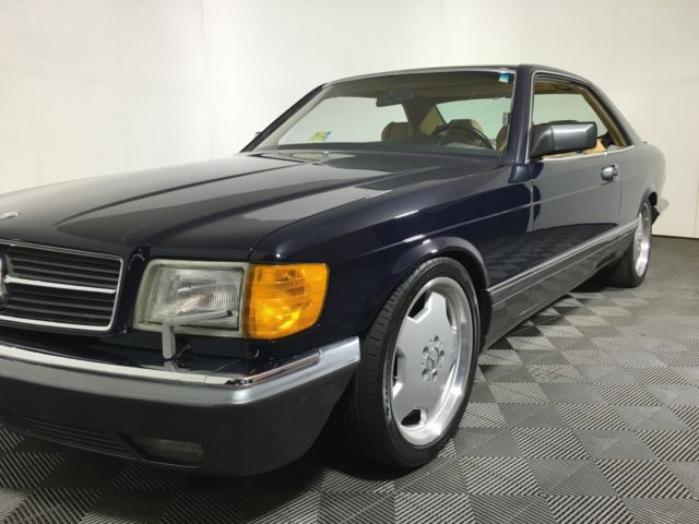 1988 mercedes benz 560sec base coupe 2 door 5 6l for sale for Mercedes benz 2 door coupe for sale