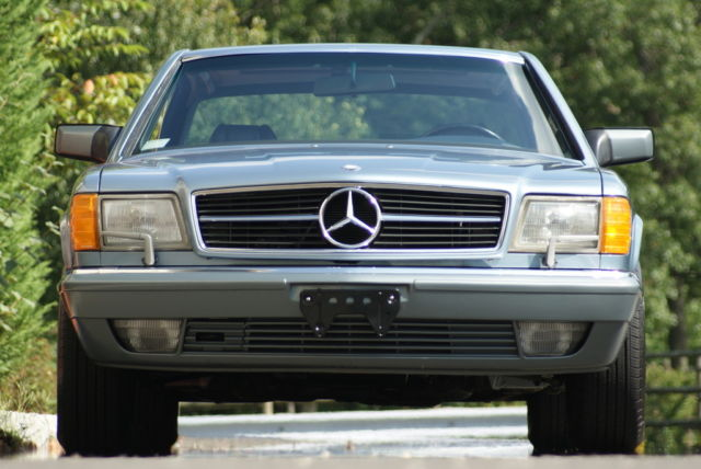 1988 Mercedes-Benz 500-Series Base Coupe 2-Door