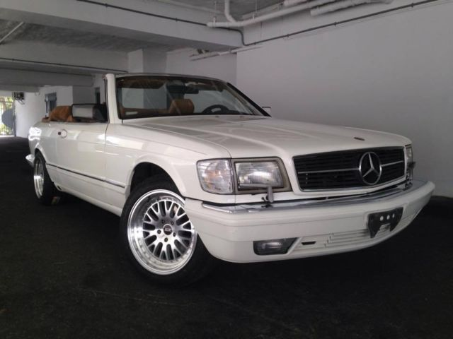 1988 Mercedes-Benz 500-Series 560 SEC COUPE CAB CONVERTIBLE