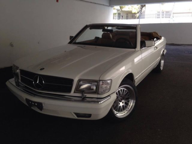 1988 mercedes benz 560sec convertible one of 50 made for for Find mercedes benz for sale