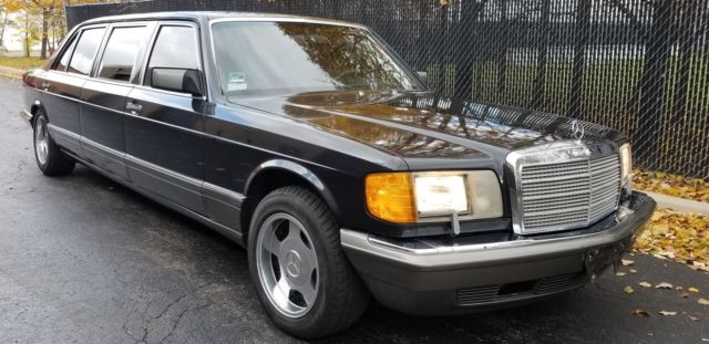 1988 Mercedes-Benz 500-Series SEL sedan