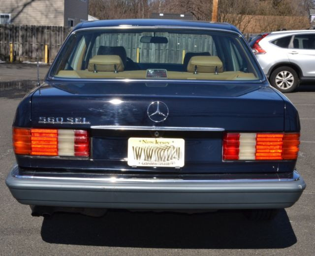 1988 mercedes benz 560sel priced to sell call for details for 1988 mercedes benz 560sel