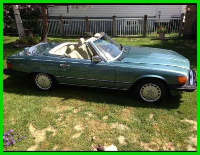 1988 Mercedes-Benz 500-Series 2 Dr Convertible