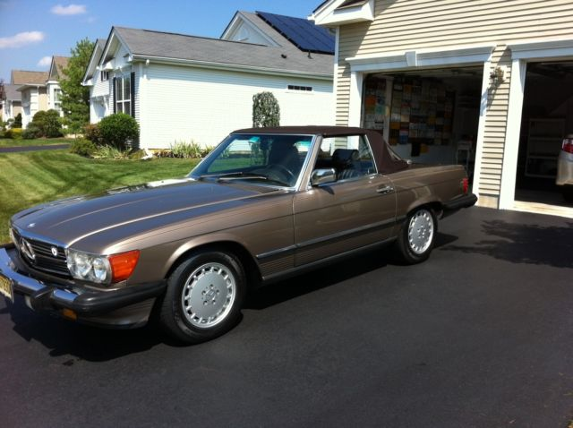 1988 Mercedes-Benz 500-Series SL