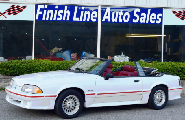 1988 Ford Mustang GT 5.0 CONVERTIBLE W/ 38K ORIG MILES