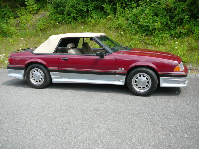 1988 Ford Mustang lx Convertible paxton supercharger