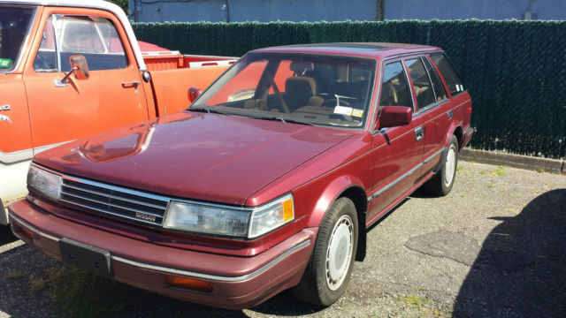 1988 nissan maxima gxe wagon 4 door 3 0l for sale photos technical specifications description. Black Bedroom Furniture Sets. Home Design Ideas