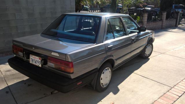 1988 Nissan Sentra E Sedan 4-Door 1.6L for sale: photos ...